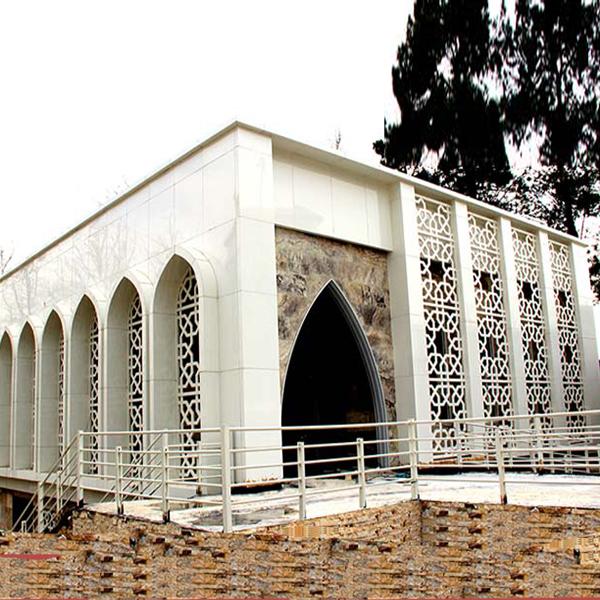 شبکه های آلومینیومی  - پروژه مسجد بیمارستان حضرت ولی عصر