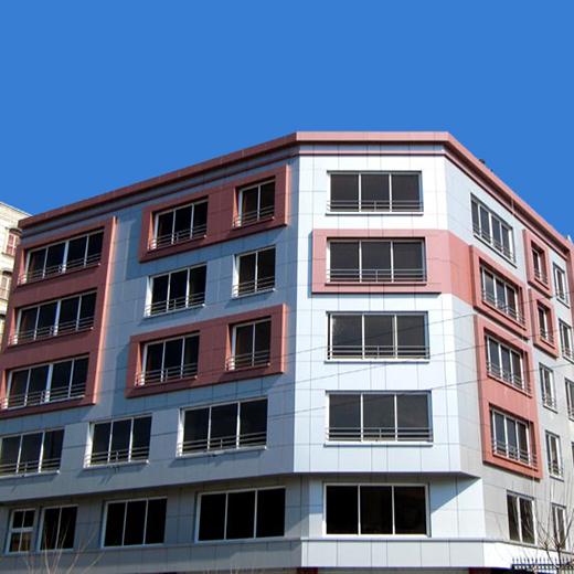 آلومینیوم کامپوزیت - ساختمان شهران