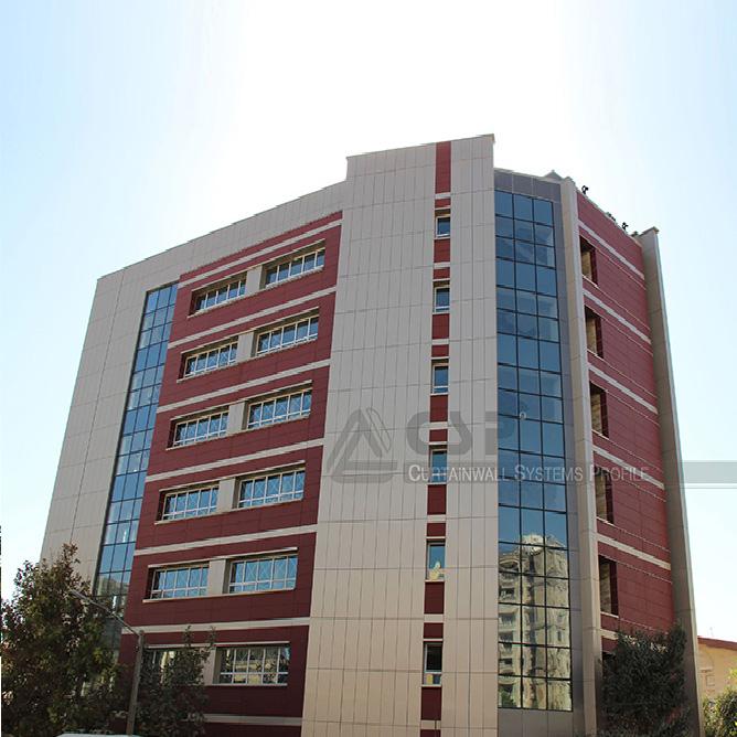 آلومینیوم کامپوزیت - ساختمان خیابان شیخ بهایی
