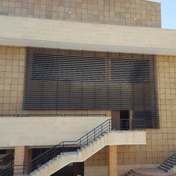 سایبان آلومینیومی - دانشگاه الزهرا