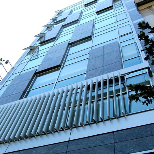 سایبان آلومینیومی - شرکت فولاد گیلان