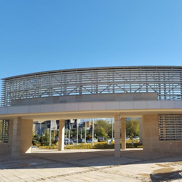 سایبان آلومینیومی - پارک علم و فناوری